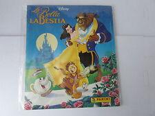 album panini LA BELLA E LA BESTIA  - 1992 -  vuoto - manca poster -