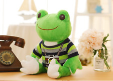 Green Frog Stuffed Animal Cute Frogs Cartoon Plush Doll Toy Gift For Child 26cm