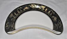 "Thomas Goode, England, CHINOISERIE, Kidney Plate, 8"""