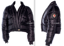 CHANEL 09A NEW $6.5K PARIS-MOSCOW  BLACK  QUILTED PUFFER SPORT/SKI JACKET -40