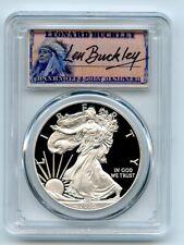 New Listing2015 W $1 Proof American Silver Eagle 1oz Pcgs Pr70Dcam Leonard Buckley
