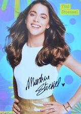 MARTINA STOESSEL - Autogrammkarte - Tini Signed Autograph Autogramm Clippings