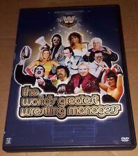 WWE - The World's Greatest Wrestling Managers (DVD, 2006) WWF ECW WCW