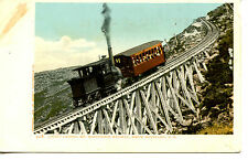 Incline-Mount Washington Railway-White Mountains-New Hampshire-Vintage Postcard