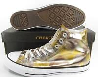 Converse Chuck Taylor All Star Hi High Top Sneaker SILVER/GOLD 157620F
