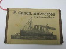 Herenthalschestr.21. pouch-nice shape Vintage P.Canon,Antwerpen Lange