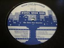 "Rap 12"" KOOL MOE DEE Go See the Doctor on Roof Top"