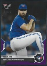 2021 TOPPS NOW PURPLE PARALLEL # 908 ROBBIE RAY Toronto Blue Jays LE 21/25