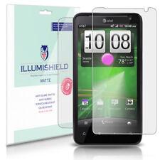 iLLumiShield Matte Screen+Back Protector w Anti-Glare 3x for HTC Vivid