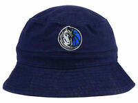 Dallas Mavericks Mitchell and Ness Bucket Beach Hat Navy NBA Sun Cap size S/M