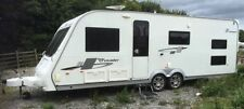 Elddis 2 Axles Mobile & Touring Caravans 6 Sleeping Capacity