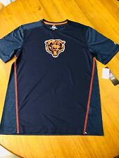 704e8eca Chicago Bears Majestic Cool Base T-shirt Men's NFL Medium S/s Tee Navy