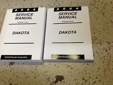 2004 DODGE DAKOTA TRUCK Service Repair Workshop Shop Manual BRAND NEW Set