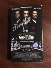 "Henry Hill (GoodFellas),""Autographed"" (JSA & PSA/DNA) Video Cassette. (Deceased)"