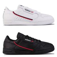 Mens adidas Originals Continental 80 Trainers in footwear in White, and Black