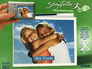 Epson Storyteller Photo Book Creator - 8in x 10in (10 Pages) #M14