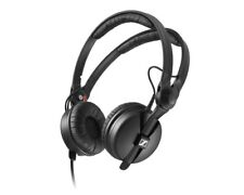 Sennheiser HD25 PLUS Headphones Split Headband + Pouch & Extra Ear Pads