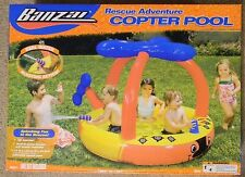 Banzai Kids Rescue Adventure Copter Pool New