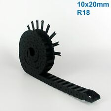 10x20mm R18 Nylon Energy Drag Chain Cable Wire Carrier CNC Router 3D Printer Mil