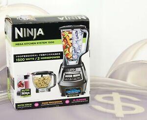 Ninja BL770 Mega Kitchen System 1500 Blender Processor Crushing Nutri Ninja New