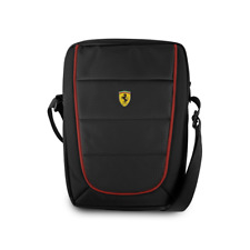 "Scuderia Ferrari 10"" Tablet / iPad Bag Manbag -  in Black & Red"