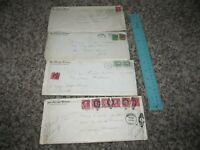 1920s Chicago Tribune Newspaper Letters Envelopes Stamps Cancels Covers