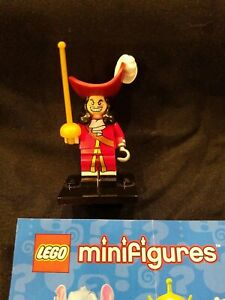 Lego Minifigures Disney Series 1 Captain Hook