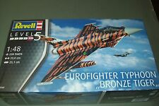 Revell Eurofighter TYPHOON Bronze TIGER 1:48 Scala Kit in Plastica
