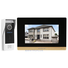 HOMSECUR Video Entry Intercom with Waterproof IR Camera & CCTV Camera Supported