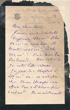 art Léon Cléry Gérome Bougival lettre autographe signée Malherbe