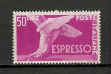 s33681 ITALIA  MNH** 1952 L. 50 Espresso Sassone 30/I filigrana ruota III