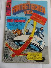 Die Fantastischen Vier Nr. 5 mit Sammelmarke  (Marvel / Williams Comic) #