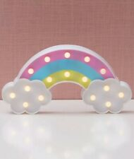 "Decorative LED Marquee Lights- RAINBOW 🌈 Girls Room Decoration 12""x 7"""