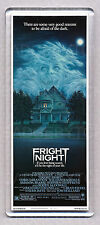 FRIGHT NIGHT movie poster 'WIDE' FRIDGE MAGNET  - 80's Horror Classic!