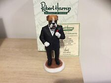 Robert Harrop CC2011 FAWN BOXER THE DOGFATHER 25th ANNIVERSARY PIECE LTD ED