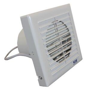 Extractor de aire KDE anti-retorno 15cm ventilador aire fresco super silencioso