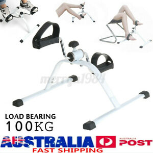 Indoor Leg Trainer Fitness Pedal Exercise Bike Cycle Rehab Home Gym Workout  O