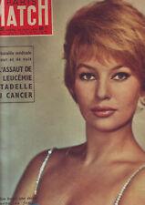 magazine paris match  couverture annette vadim - novembre 1958 / No 502