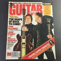 Guitar World Magazine August 2006 - Tom Delonge, Jade Puget & Frank Zappa