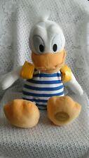 Genuine Original Authentic Disney Store Donald Duck Baby Soft Plush Stripe Suit.