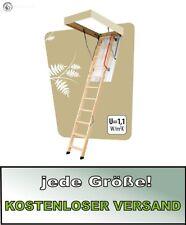 Escalera de suelo escalera de memoria FAKRO lwk plus 55 x 111 x 280 cm
