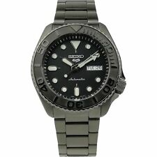 Seiko 5 Sports Customised 'Midnight Yachtmaster' Automatic Watch SRPD65K1-A