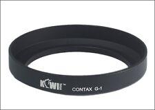 JJC Contax G-1 Lens Hood for Contax 28mm 35mm &35-70mm lenses G2 G1 re. GG-1 BLK
