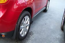 GENUINE MITSUBISHI 2015 OUTLANDER SPORT FRONT AND REAR MUDGUARDS SET OF 4 NEW
