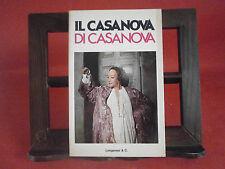 """Comisso, G. """"Il Casanova di Casanova"""" – Longanesi, 1976"""