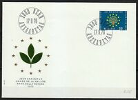 Switzerland 1970 FDC cover Europa CEPT issue.Protection of nature year.