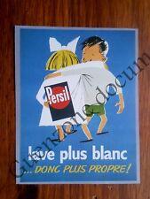 Publicité LESSIVE PERSIL couple enfants    advert