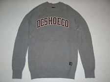 New DC Shoes Mens Lenox Cotton Long Sleeve Crew Knit Sweater Medium