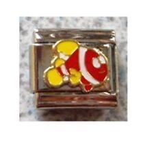 9mm Classic Size Italian  Charms E22  Clown Fish