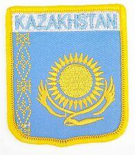 Kasachstan Wappen Flagge Welt Bestickter Patch Abzeichen